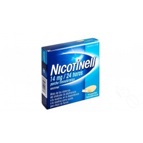 NICOTINELL 14 MG/24 HORAS PARCHE TRANSDERMICO, 14 PARCHES