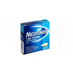 NICOTINELL 7 MG/24 HORAS PARCHE TRANSDERMICOS , 14 PARCHES