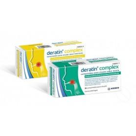 DERATIN COMPLEX COMPRIMIDOS PARA CHUPAR SABOR MIEL-LIMON , 30 COMPRIMIDOS (BLISTER ALUMINIO/PVC)