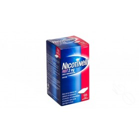 NICOTINELL FRUIT 2 MG CHICLE MEDICAMENTOSO , 96 CHICLES