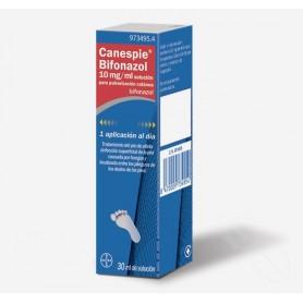 CANESPIE BIFONAZOL 10 MG/ML SOLUCION PARA PULVERIZACION CUTANEA , 1 FRASCO DE 30 ML